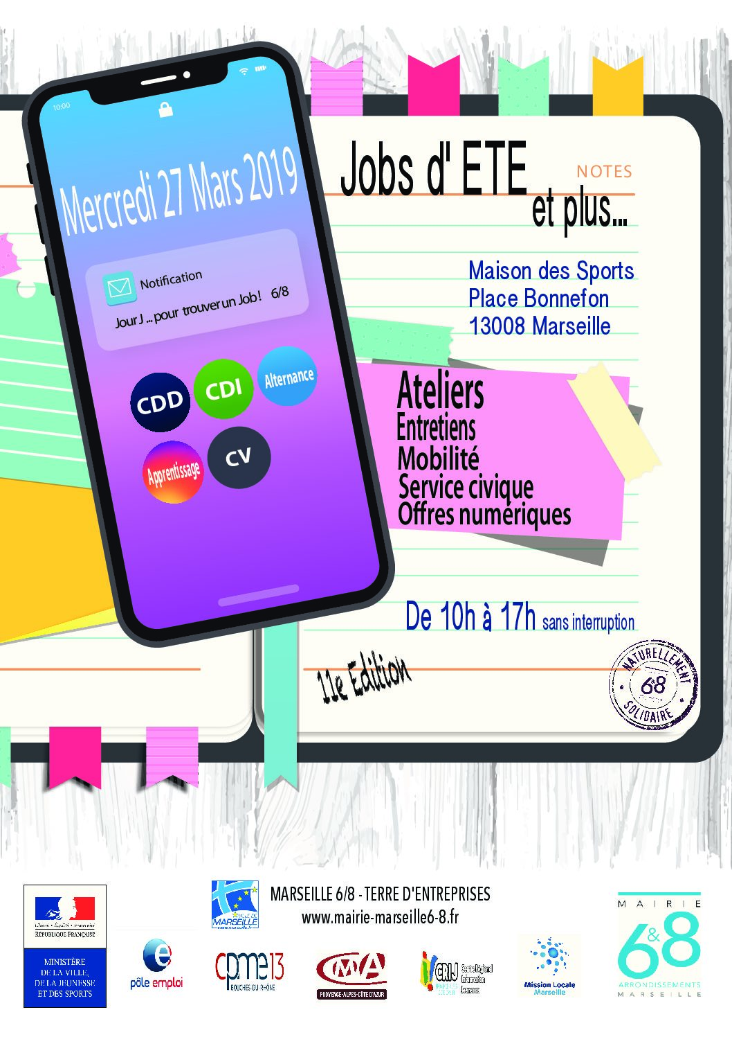 Forum « Jobs d'été »